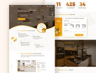 Kitchens Manufactory Landing Page