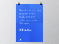 Collaborate. Talk More.