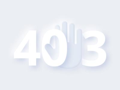 Error 403