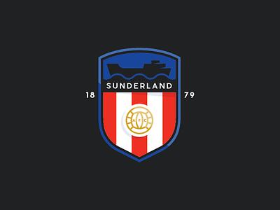 SAFC rebrand redesign rebrand design soccer sunderland crest logo football