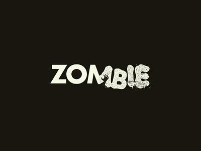 Zombie logo illustrator design app logotype brand aid design logo zombie halloween horror