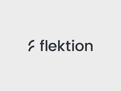 Flektion consultancy clean simple graphicdesign design minimal logodesign logo
