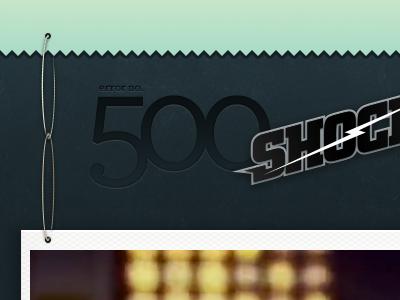 SHOCK-ing 500 500 archer hello! ranking server error city pro