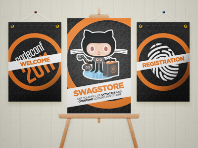 CodeConf Posters github codeconf octocat