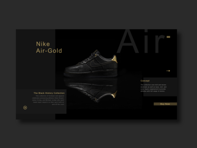 Nike Concept Page