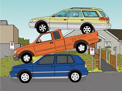 Dribble cars