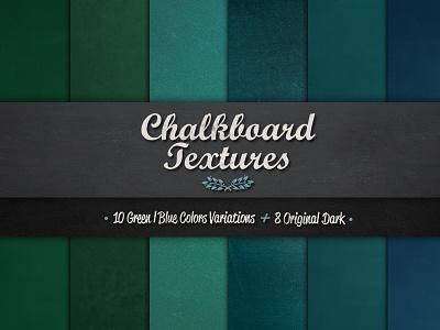 Chalkboard Textures chalk chalkboard blackboard textures color vintage chalk effect digital papers green blue