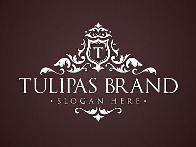 Tulipas Brand Logo logo template branding identity design flower nature classy old vintage luxury