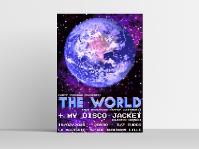 The World / My Disco Jacket poster