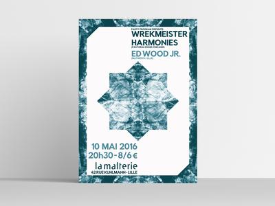 Wrekmeister Harmonies / Ed Wood Jr. poster