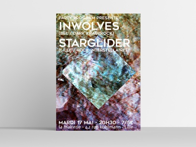 Inwolves / Starglider poster