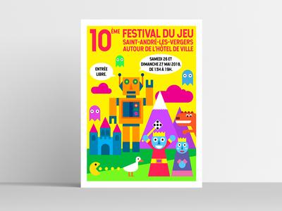 Saint-André-Les-Vergers Game Festival poster