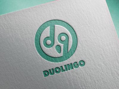 Duolingo logo reworking