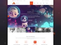 Arno Web Design Template