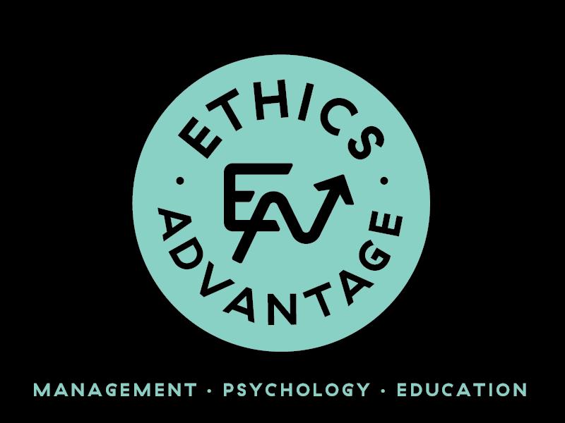 Ethics Advantage Logo circle monogram logo