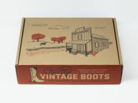 Vintage Boot Box