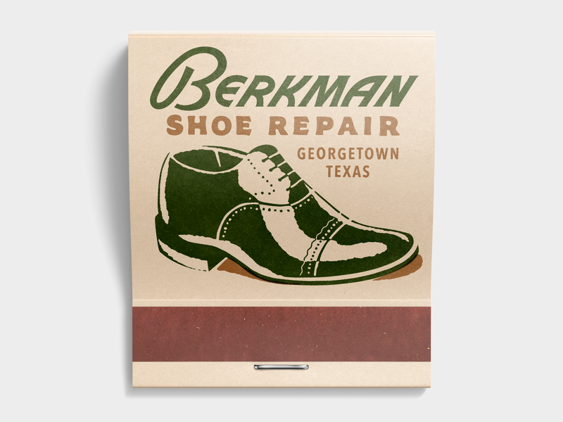 Berkman Shoe Repair By Blake Watts On Dribbble