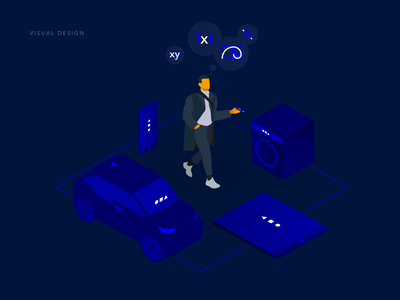 Event Chain – Visual 3 visualization icons visual identity pitch visual visual design ux branding ui illustration
