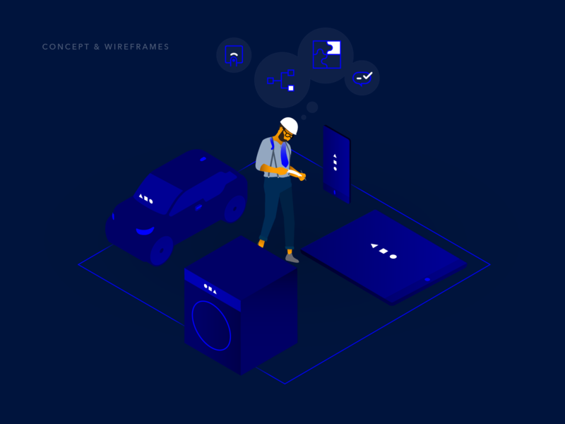 Event Chain – Visual 2 eventchain vector pitch creative agency visual design design ux kontrastmoment ui branding illustration