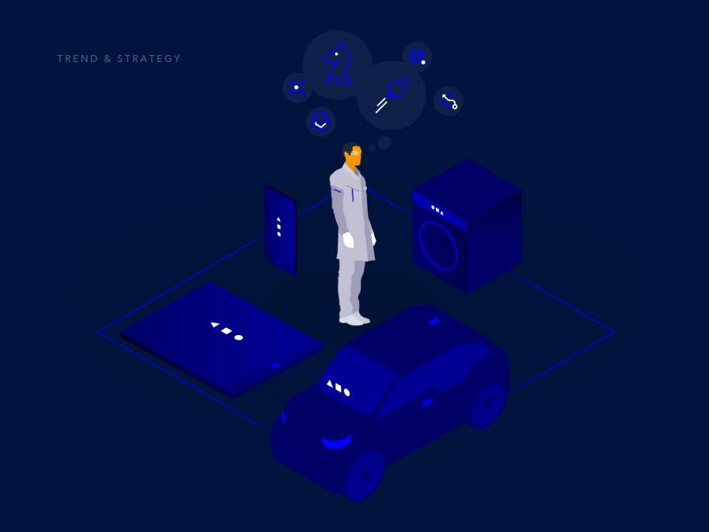 Event Chain – Visual 1 future design pitch creative agency vector visual design ux branding ui
