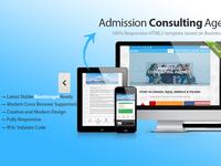 Responsive Educational HTML Template