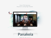 Panakeia-PSD To Bootstrap Template