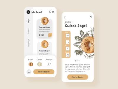 bagel ecommerce app