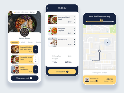 Food Delivery App - Part2