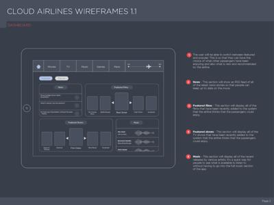 In Flight Entertainment Wireframes ife flight entertainment ui ux wireframes