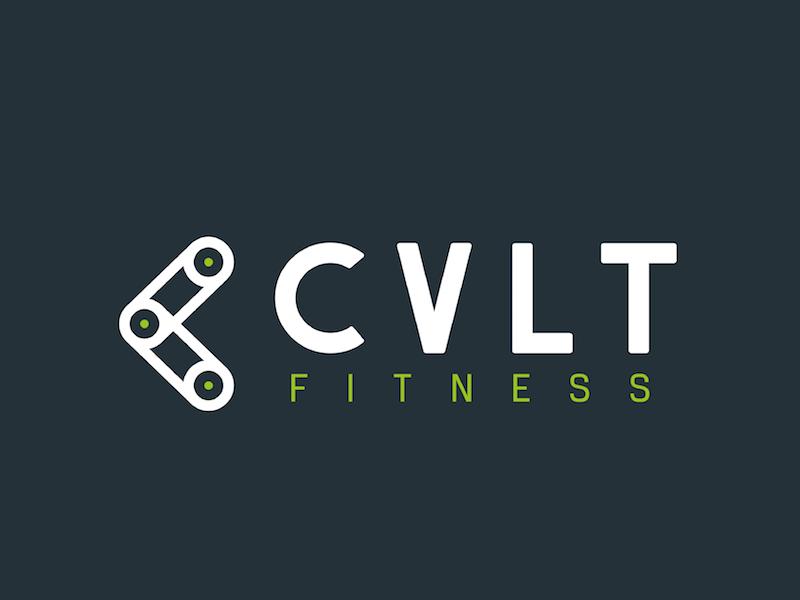 Fitness Brand Logo mark cvlt crossfit gym logo brand fitness