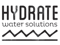 Hydrate - Water Solutions Logo WIP