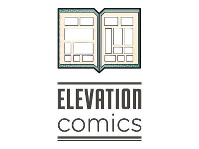 Elevation Comics Logo elevation comics comics logo comp books bookstore logo