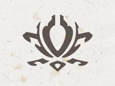 Esclair Studios Logo esclairstudios.com lotus logo design organic