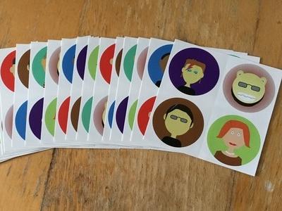 Persona Stickers