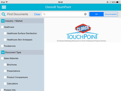 Clorox TouchPoint