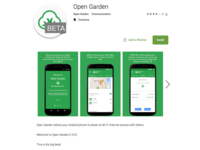 Open Garden Android App