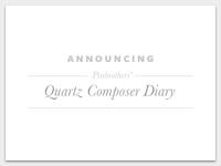 Prabrothers' Quartz Composer Diary