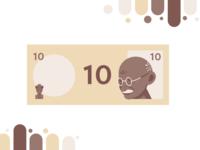 4-Tone Indian Rupee