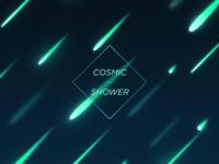 Cosmic Shower