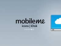 MobileMe Icons : iDisk