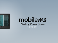 MobileMe Icons : Find My iPhone
