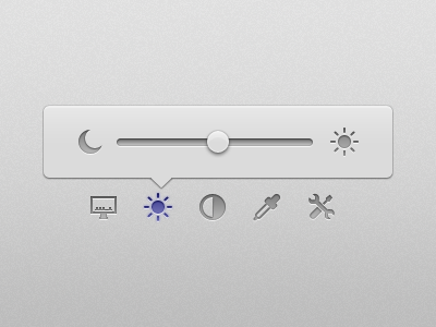 Chrome and Code Vol. 1 : Dawn interaction prototype ui popover sun moon slider quartz composer
