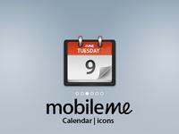 Mobile Me Icons : Calendar