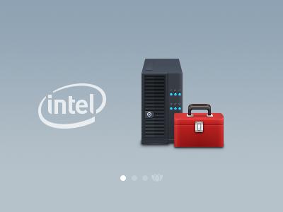 Intel Icons : Pedestal Server pedestal server server toolkit icon iconsutra intel 128px