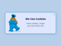 Cookie Monster Popup