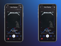 Music Player with Social Share