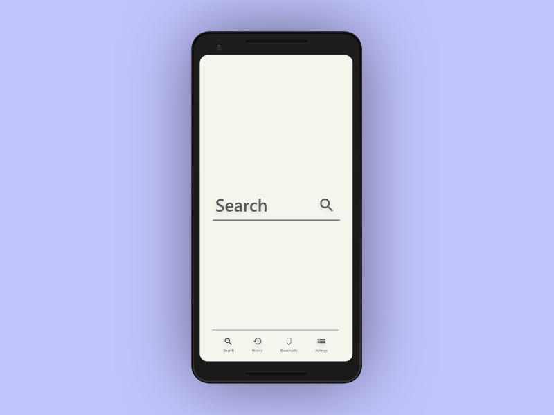 Search app design ux ui