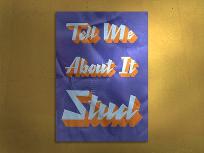 Stud Retro Poster