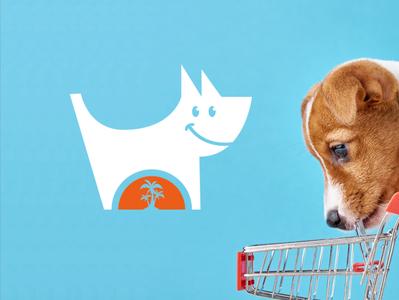 Pet shop logo design identity design vector startup logo entrepreneurship marketing logotype logo design pets petshop ecommerce branding