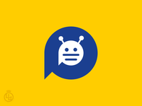 Bot chat app icon